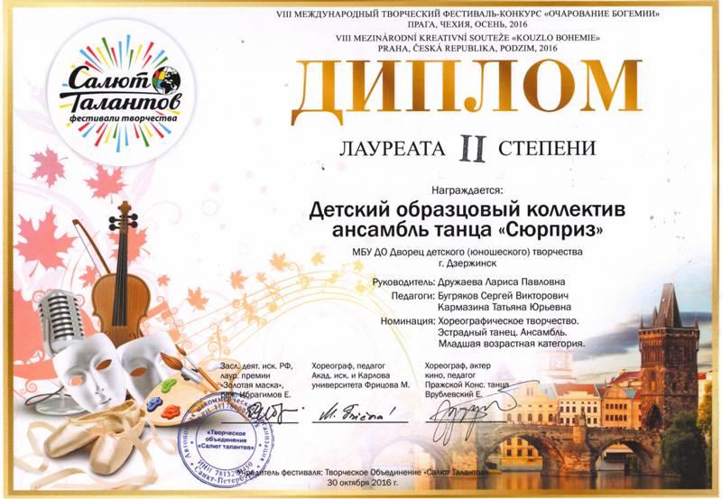 Международный конкурс очарование богемии